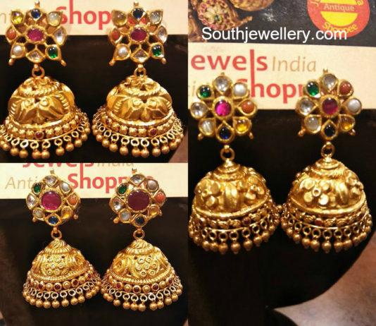 Jhumkas Latest Jewelry Designs Jewellery Designs