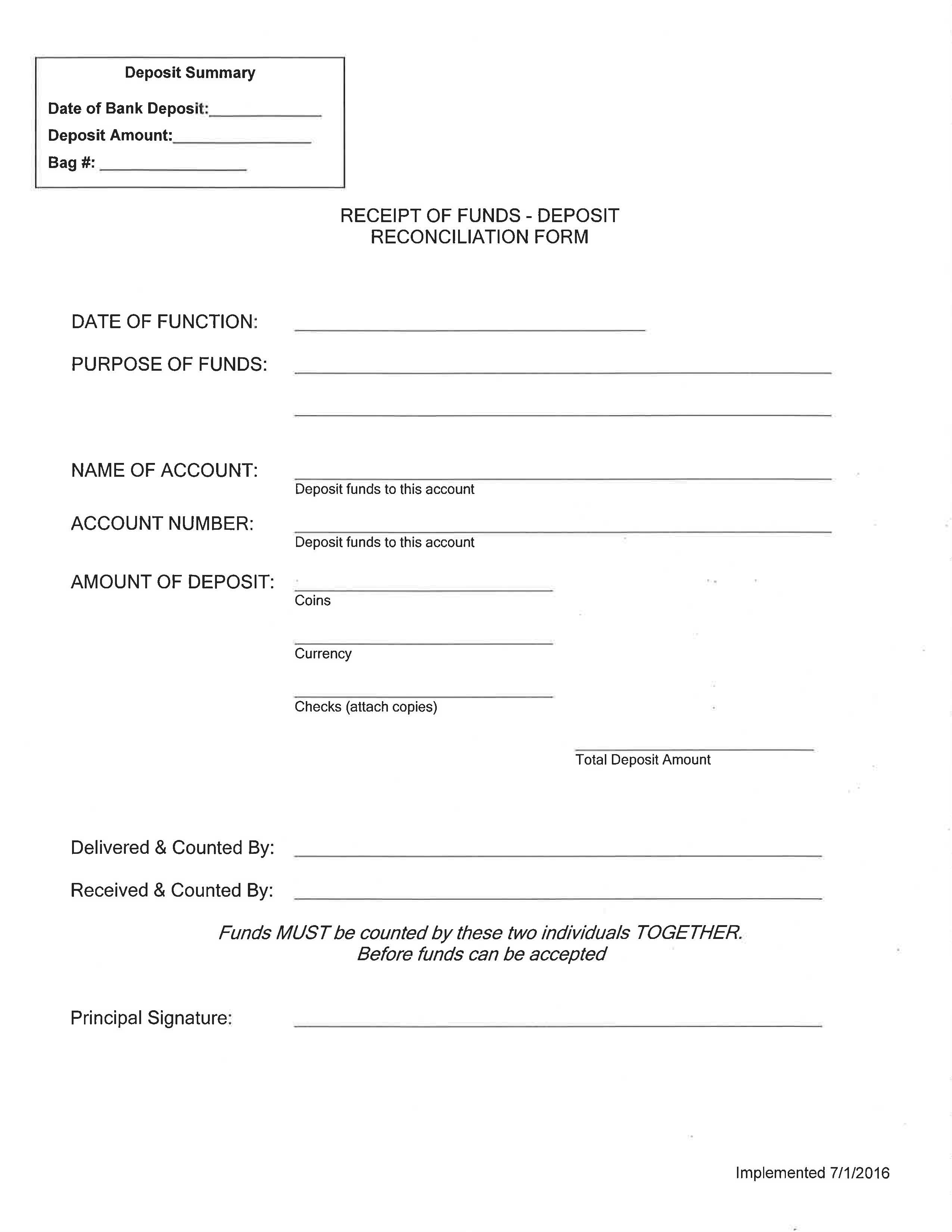 Financial Services Forms