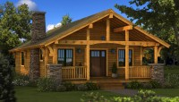 Bungalow - Plans & Information | Southland Log Homes