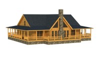 Abbeville - Plans & Information | Southland Log Homes