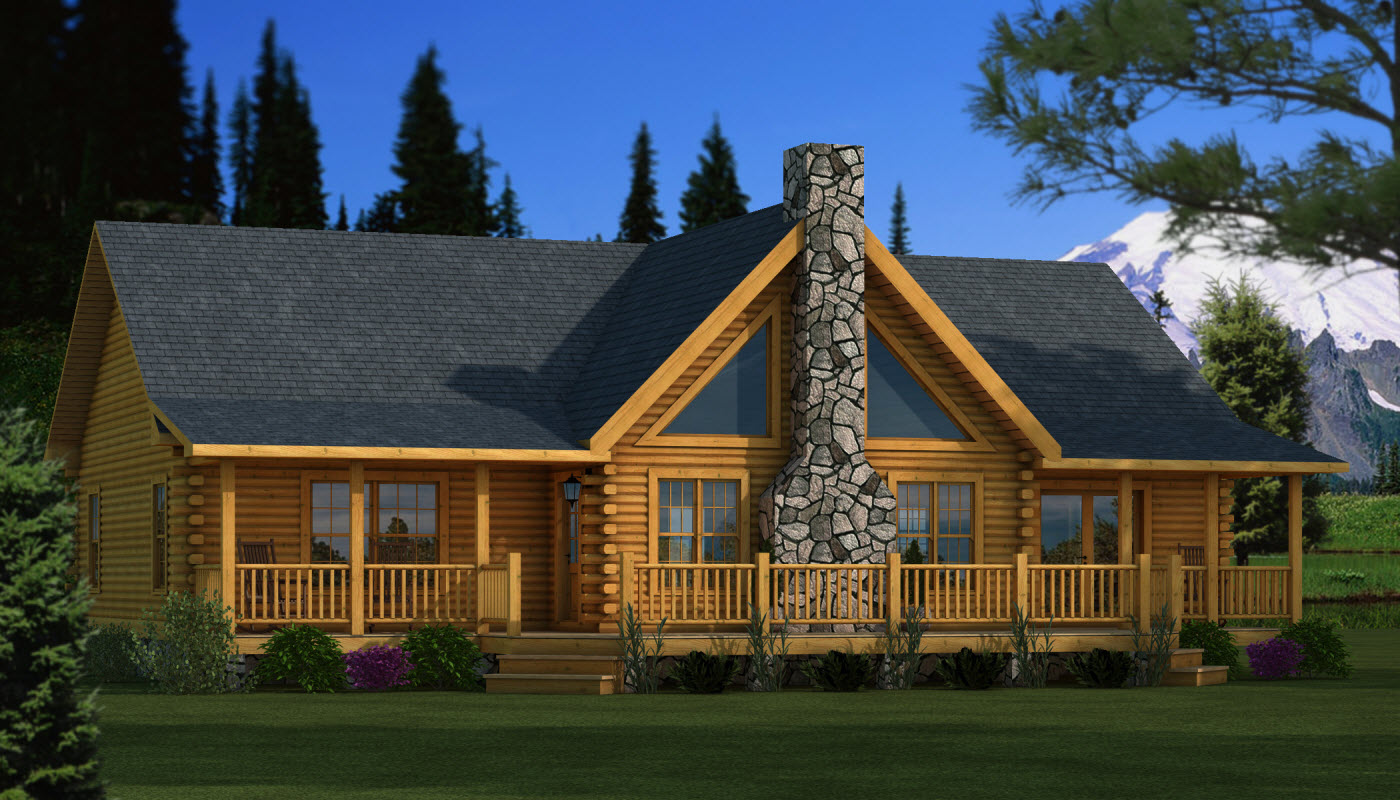 Adair  Plans  Information  Southland Log Homes