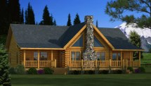 Southland Log Homes Adair Floor Plan