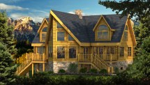 Adirondack - Plans & Information Southland Log Homes