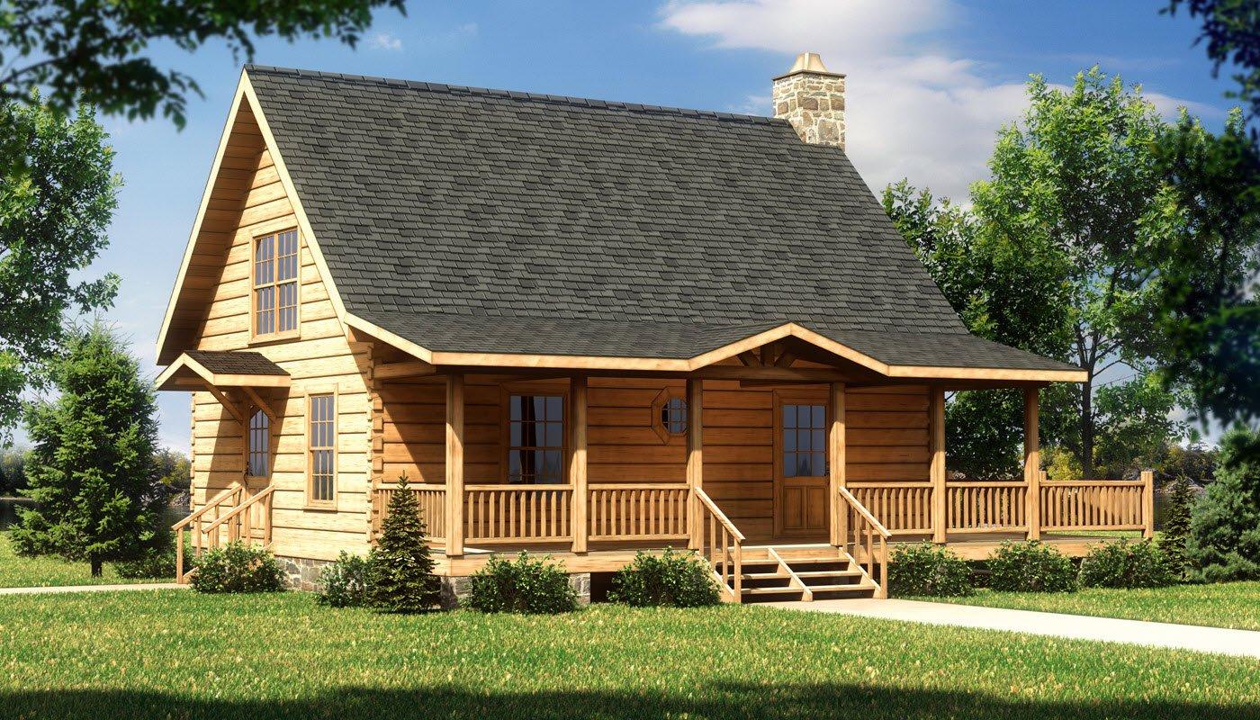 Alpine II  Plans  Information  Southland Log Homes