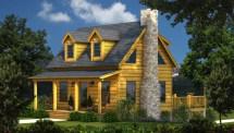 Southland Log Homes Floor Plan