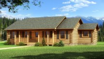 Bay Minette - Plans & Information Southland Log Homes