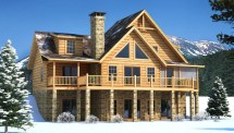 Brookestone - Plans & Information Southland Log Homes