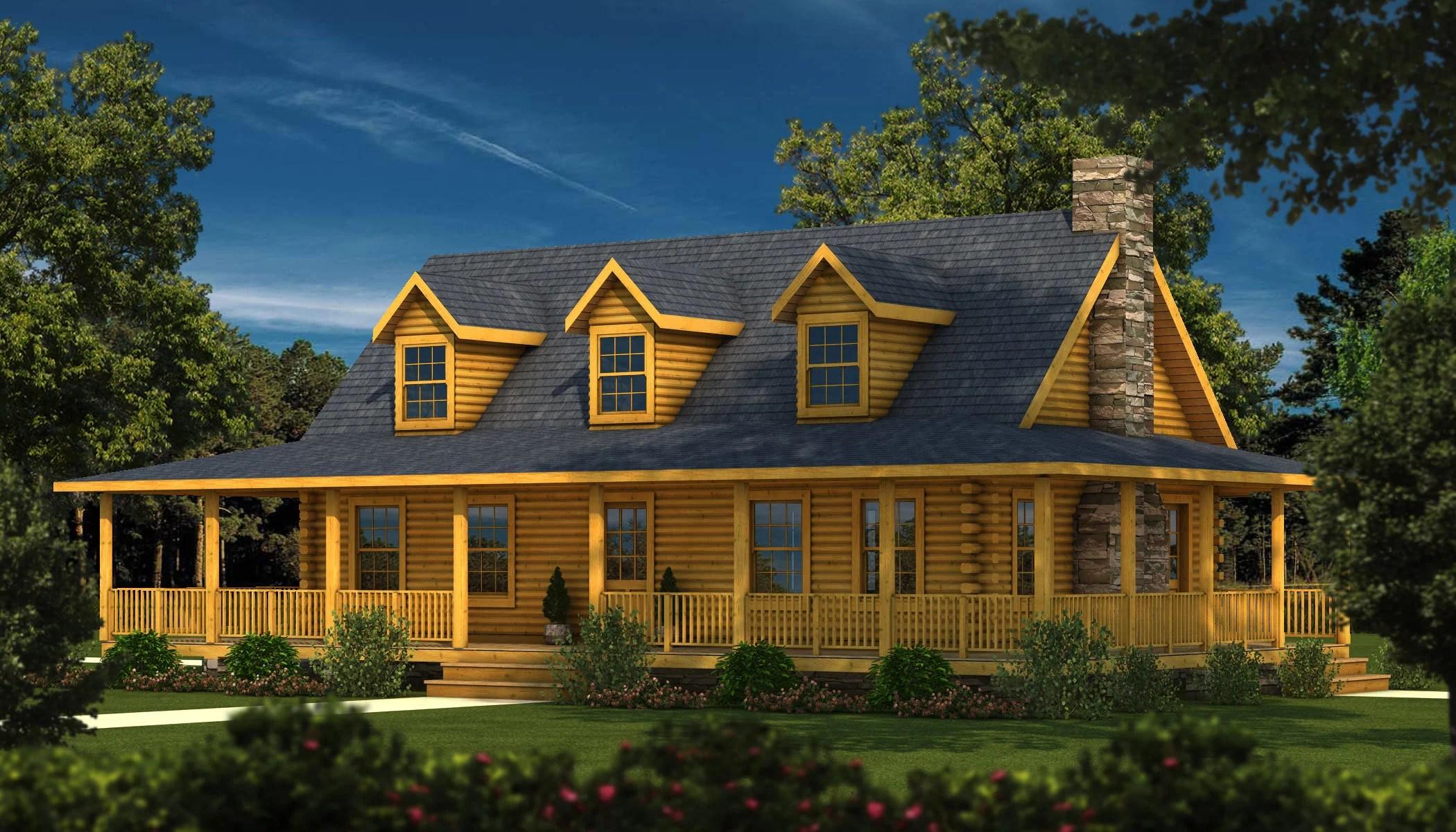 Log Home Plans  Log Cabin Plans  Southland Log Homes
