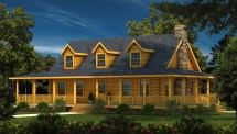 Log Home Plans & Cabin Southland Homes