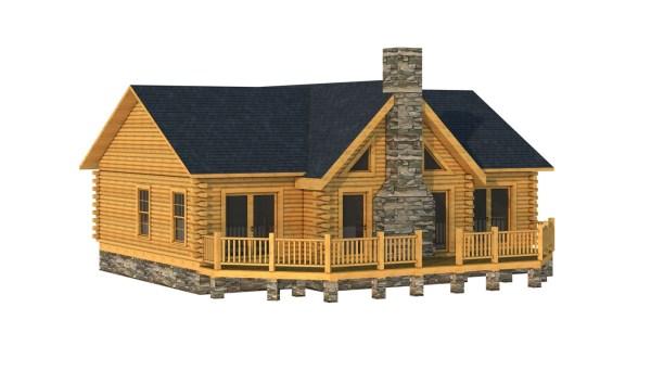 Cleveland - Plans & Information Southland Log Homes