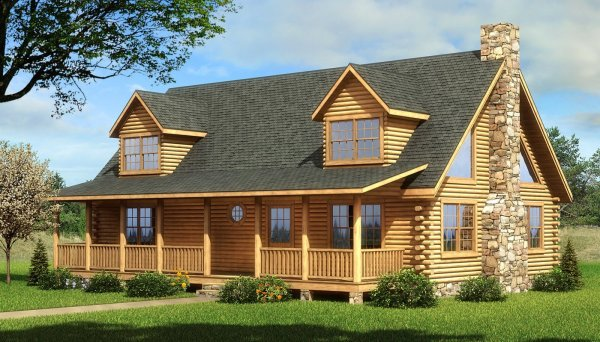 Coosa - Plans & Information Southland Log Homes