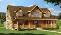 Crestview - Plans & Information Southland Log Homes