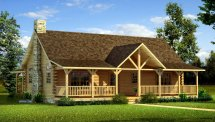 Danbury - Plans & Information Southland Log Homes