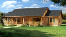 Dauphin Island - Plans & Information Southland Log Homes