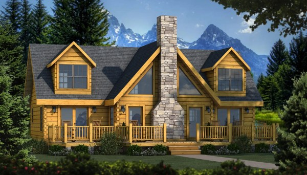 Grand Lake - Plans & Information Southland Log Homes