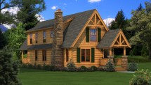Haven - Plans & Information Southland Log Homes