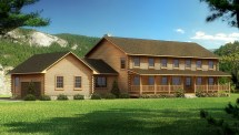 Jefferson - Plans & Information Southland Log Homes