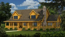 Lake City - Plans & Information Southland Log Homes