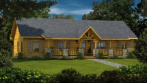 Laurens Ii - Plans & Information Southland Log Homes