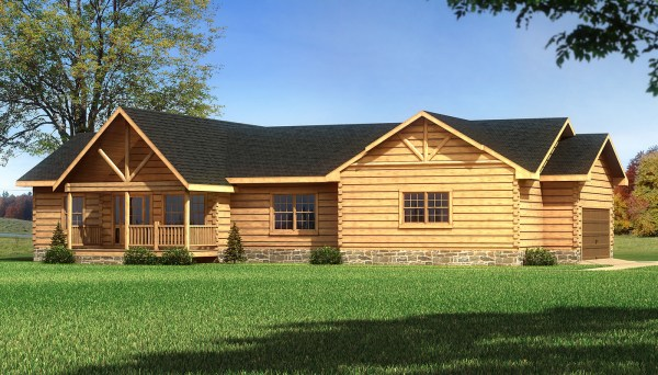 Madison - Plans & Information Southland Log Homes