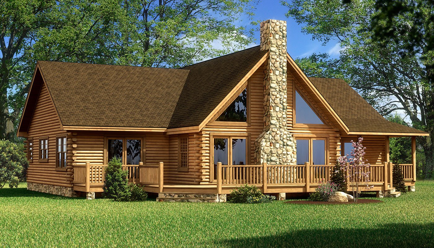Red River  Plans  Information  Southland Log Homes