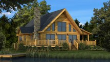 Rockbridge - Plans & Information Southland Log Homes