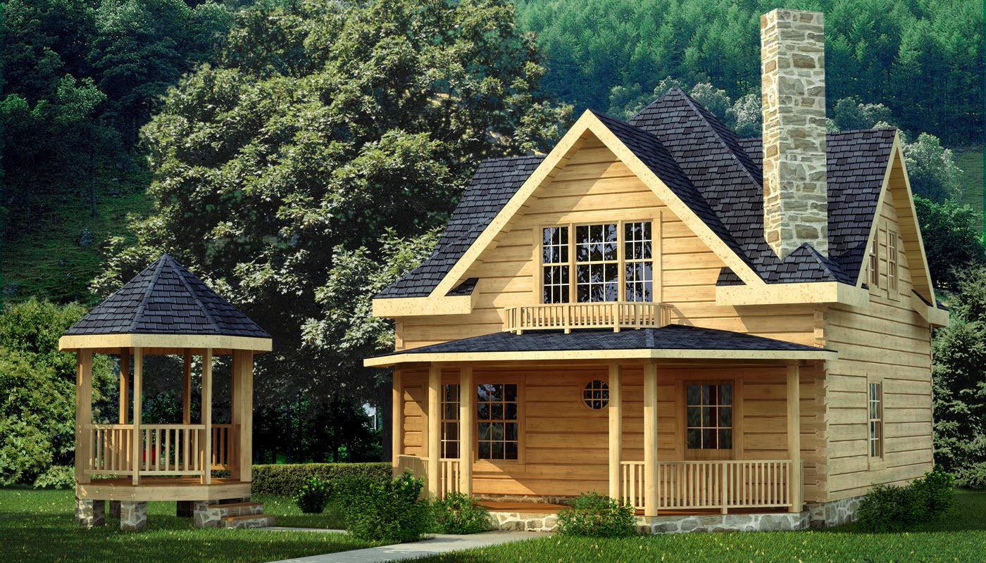 Salem  Plans  Information  Southland Log Homes