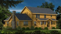 Twin Pines - Plans & Information Southland Log Homes
