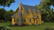 Williamsburg - Plans & Information Southland Log Homes