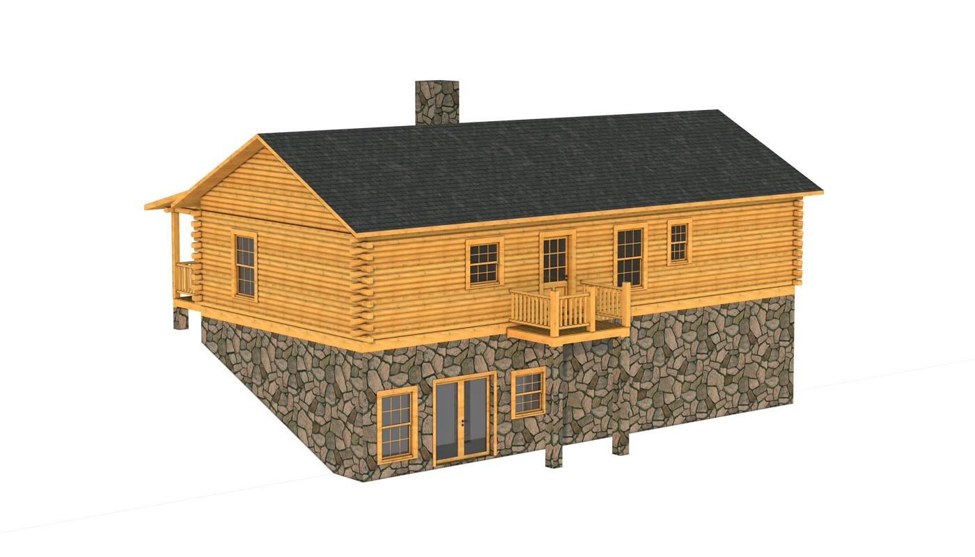 Bradley  Plans  Information  Southland Log Homes
