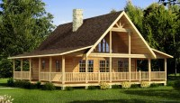 Carson - Plans & Information | Southland Log Homes