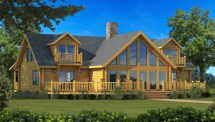 Chalmers - Plans & Information Southland Log Homes