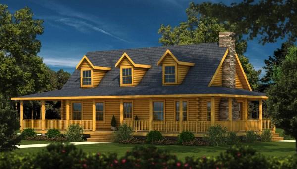 Charleston Ii - Plans & Information Southland Log Homes