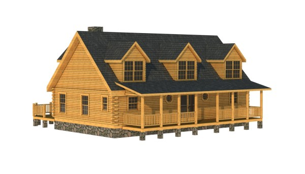 Clay - Plans & Information Southland Log Homes