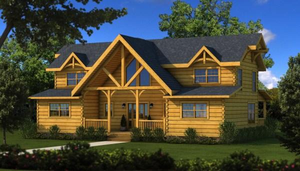 River Rock Tf - Plans & Information Southland Log Homes