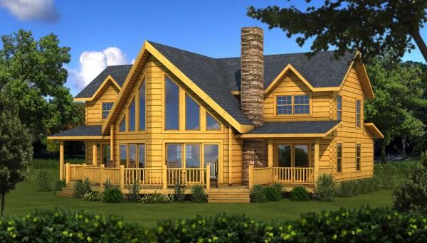 River Rock - Plans & Information Southland Log Homes