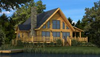 Rockbridge - Plans & Information | Southland Log Homes