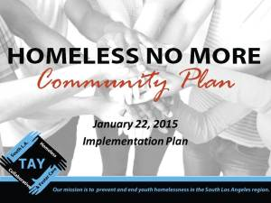 South LA TAY Community Plan Implementation January 2015