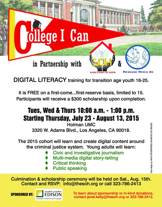 Digital Literacy July 2015