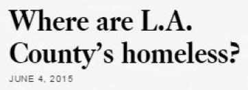 Homeless LA