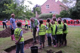 School Dig at Marton Cum Grafton
