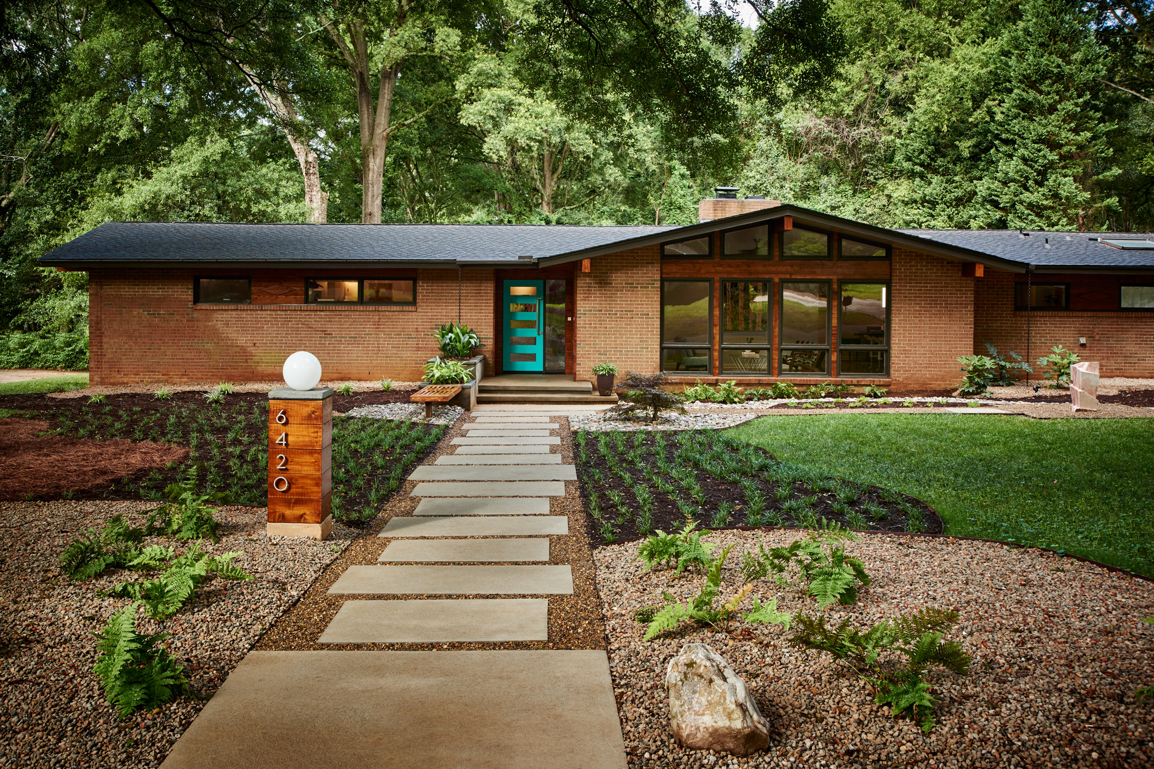 Mad About Mid Century Modern in Charlotte  South of SouthPark