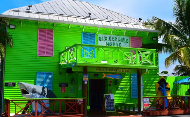 Old Lime Key House