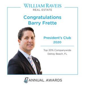 Barry Frette President's Club