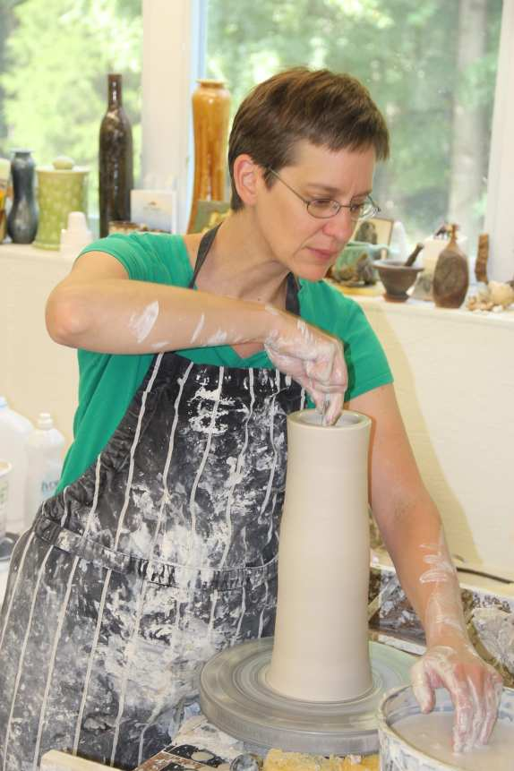 Samantha Henneke from Bulldog Pottery.