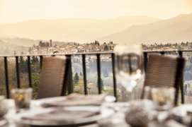 View from Veranda Restaurant_Credit to Renaissance Tuscany