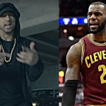 """LeBron James Reacts to Eminem's """"The Storm"""" Freestyle at BET Awards 2017"""