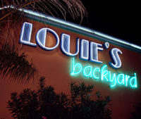 Louies Backyard South Padre Island Texas Feature Attraction Southpointcom