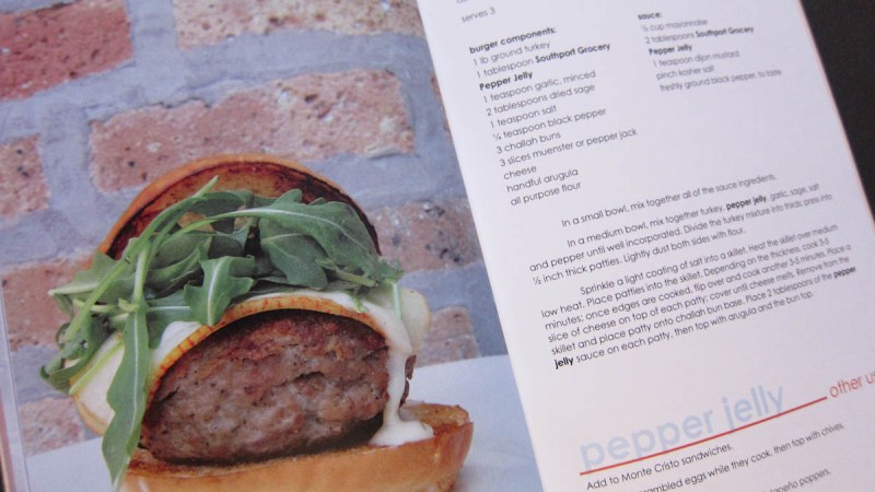 Preserve Periodical Recipes & Ideas: Red Pepper Turkey Burger