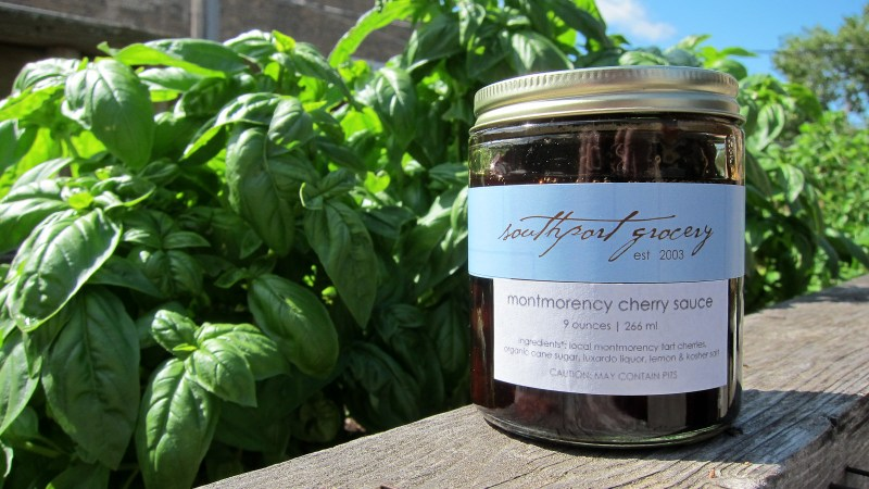New Preserve: Montmorency Cherry Sauce